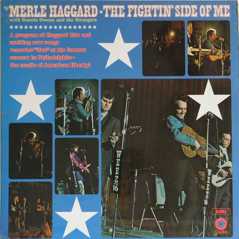 Merle Haggard - The Fighting Side Of Me (Country Music vinyl record for sale)