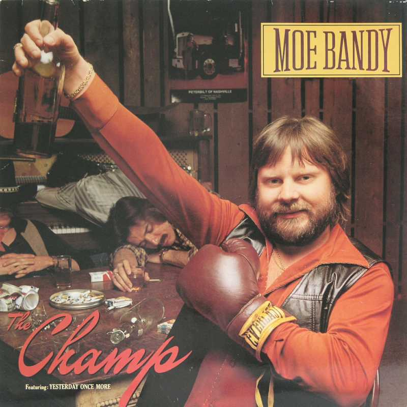 Moe Bandy - The Champ (Country Music vinyl record for sale)