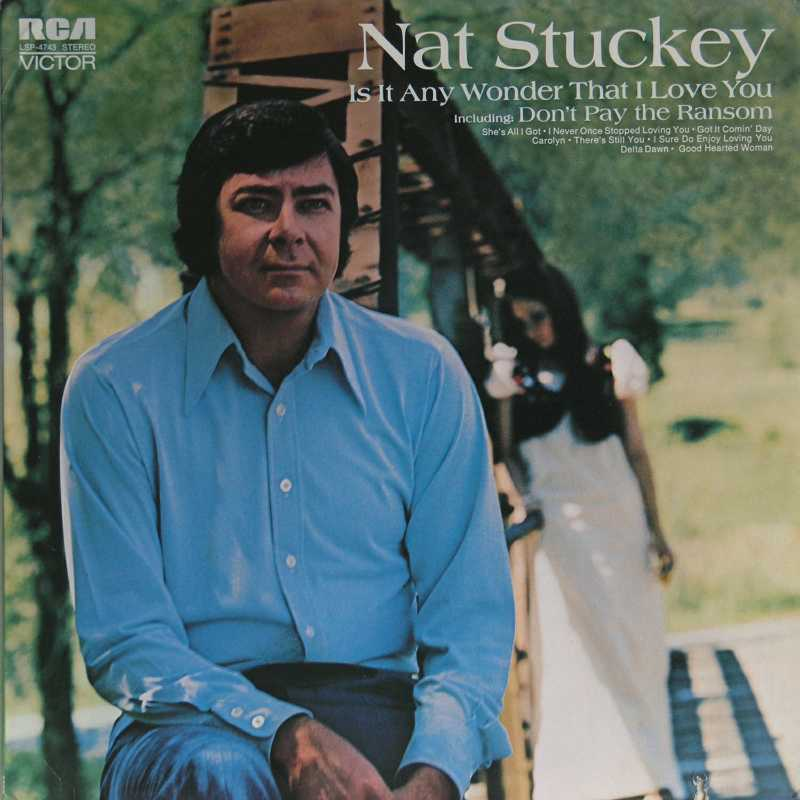 Nat Stuckey - Is It Any Wonder That I Love You (Country Music vinyl record for sale)