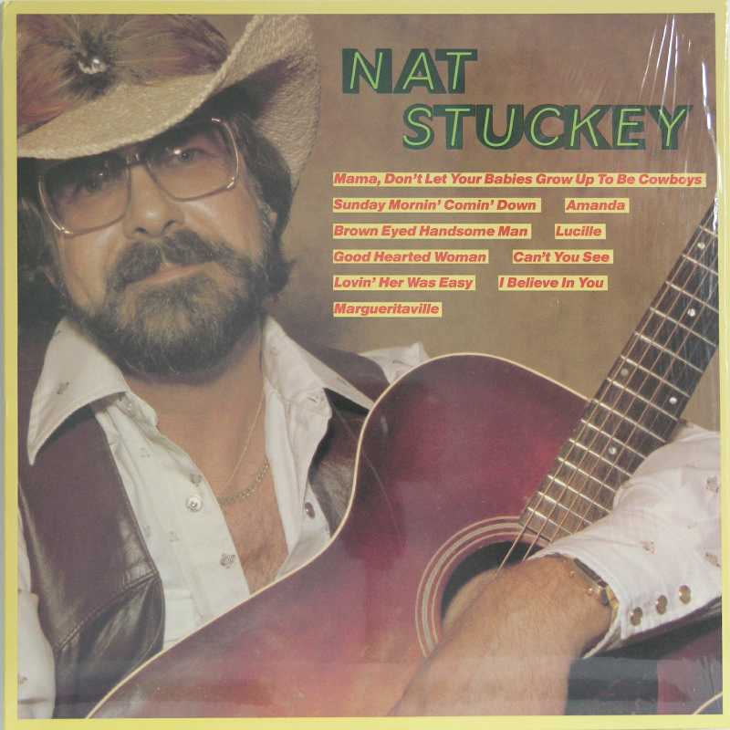 Nat Stuckey, a self titled album (Country Music vinyl record for sale)