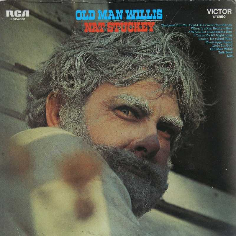 Nat Stuckey - Old Man Willis (Country Music vinyl record for sale)