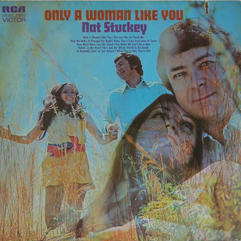 Nat Stuckey - Only A Woman Like You (Country Music vinyl record for sale)
