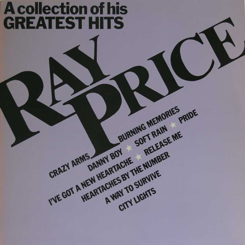 Ray Price - A Collection Of His Greatest Hits (Country Music vinyl record for sale)