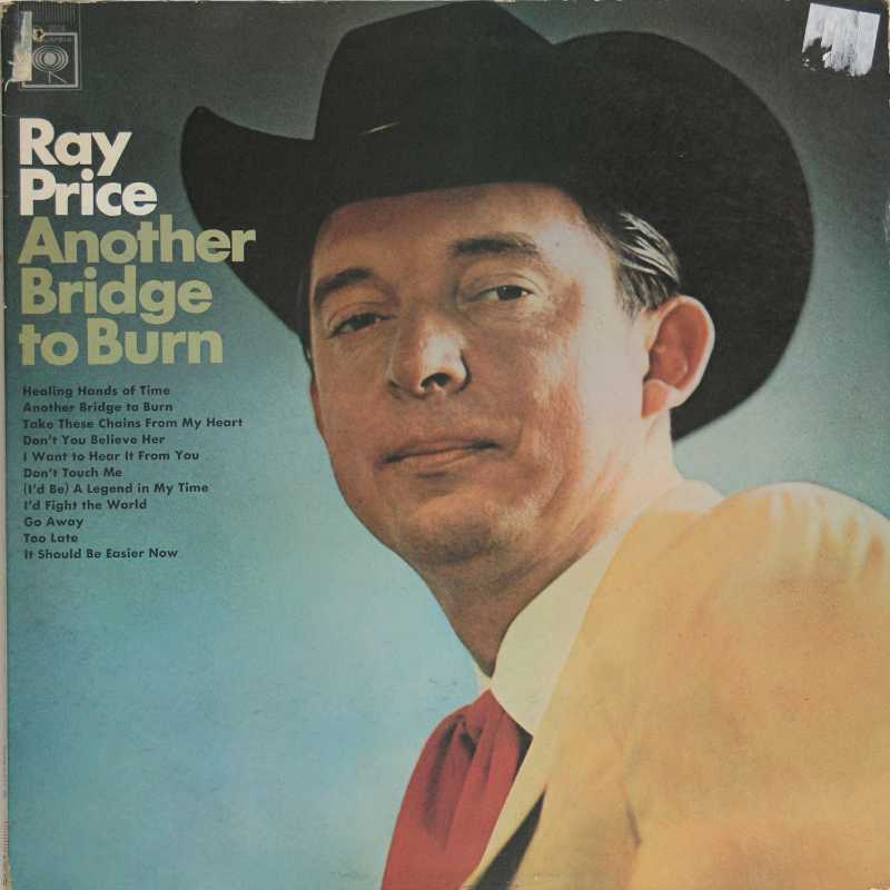 Ray Price - Another Bridge To Burn (Country Music vinyl record for sale)