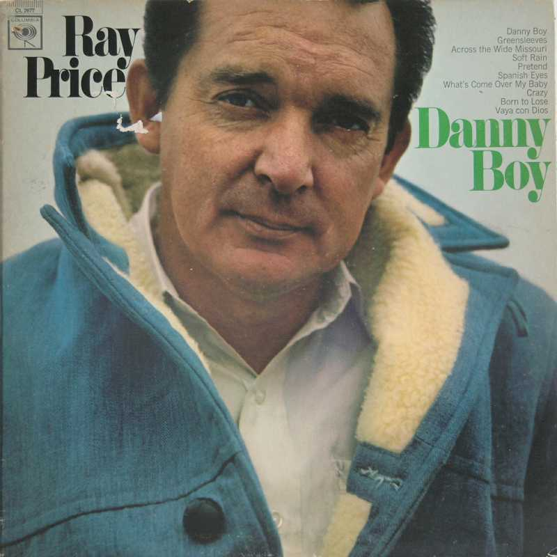 Ray Price - Danny Boy (Country Music vinyl record for sale)