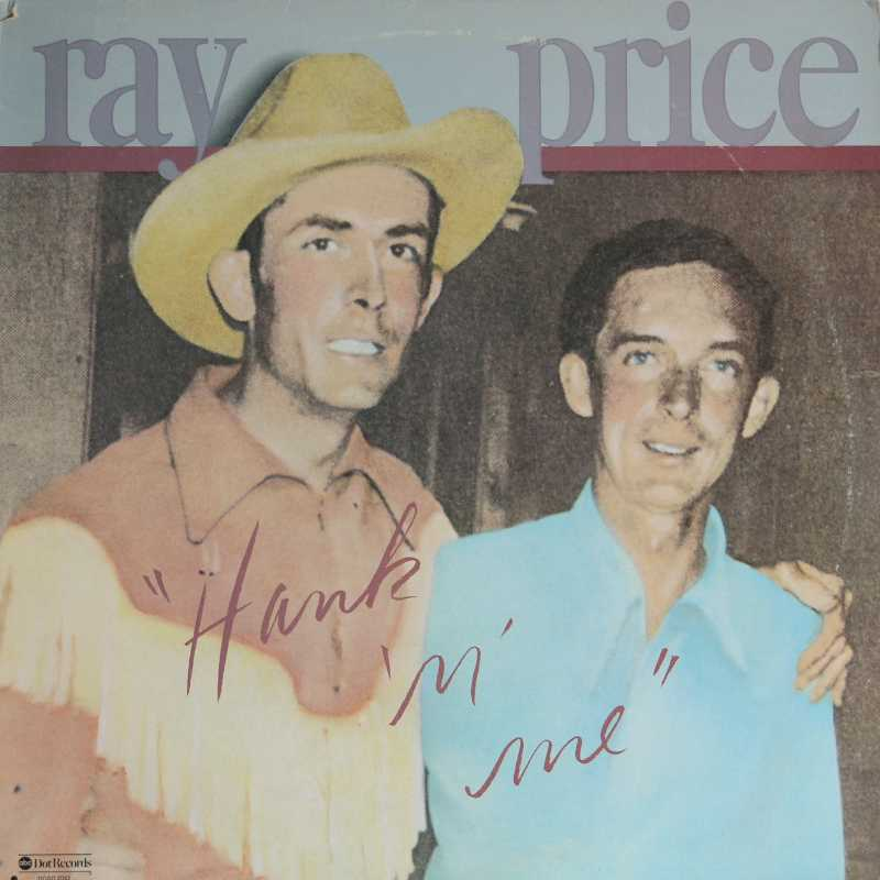 Ray Price - Hank And Me (Country Music vinyl record for sale)