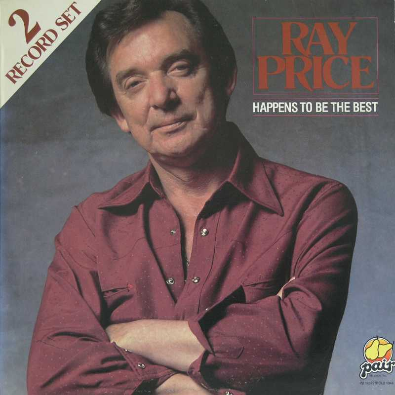 Ray Price - Happens To Be The Best (Country Music vinyl record for sale)