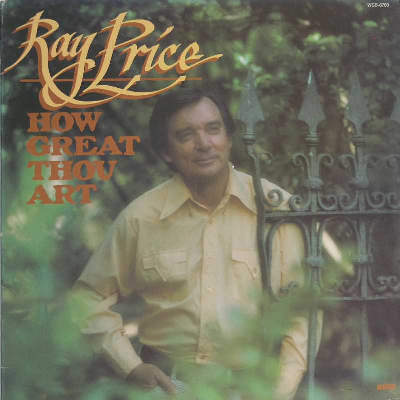 Ray Price - How Great Thou Art (Country Music vinyl record for sale)