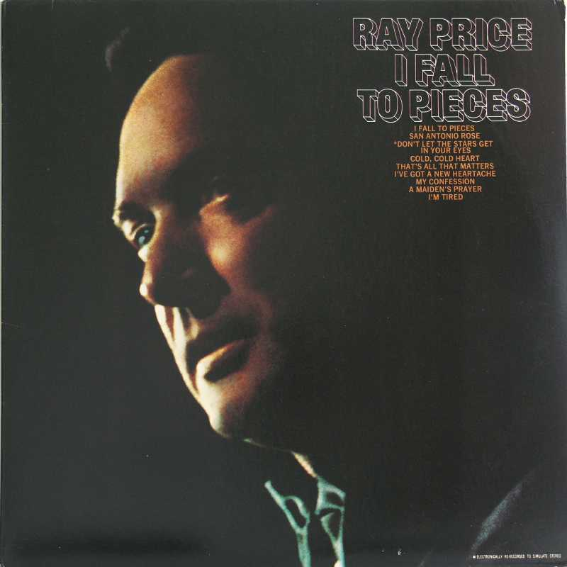 Ray Price - I Fall To Pieces (Country Music vinyl record for sale)