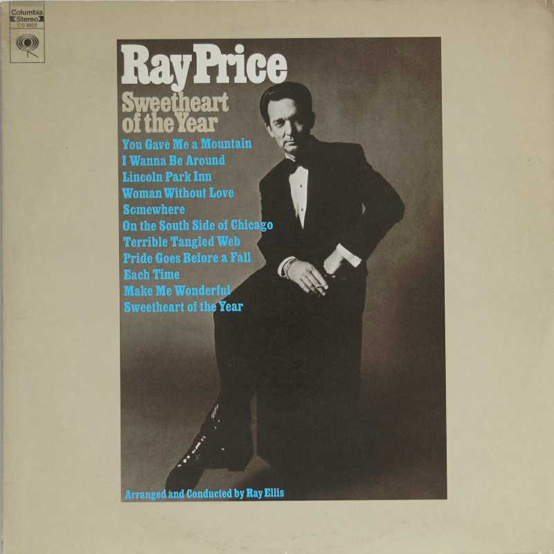 Ray Price - Sweetheart Of The Year (Country Music vinyl record for sale)