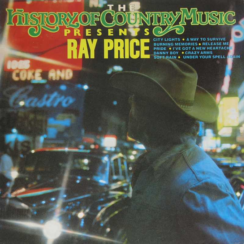 Ray Price - The History Of Country Music Presents Ray Price (Country Music vinyl record for sale)