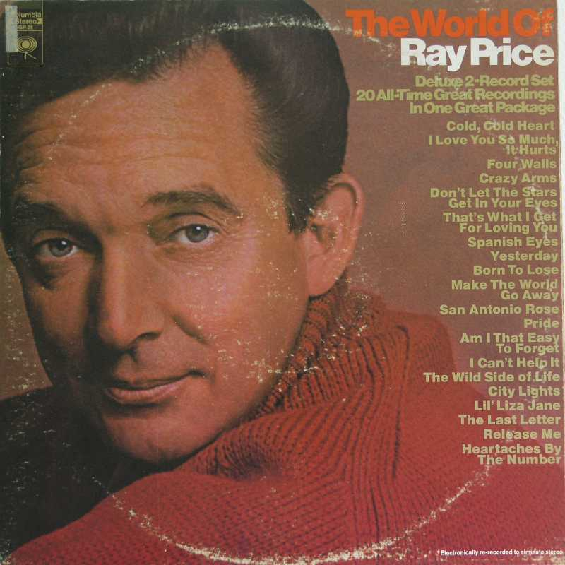 Ray Price - The World Of Ray Price (Country Music vinyl record for sale)