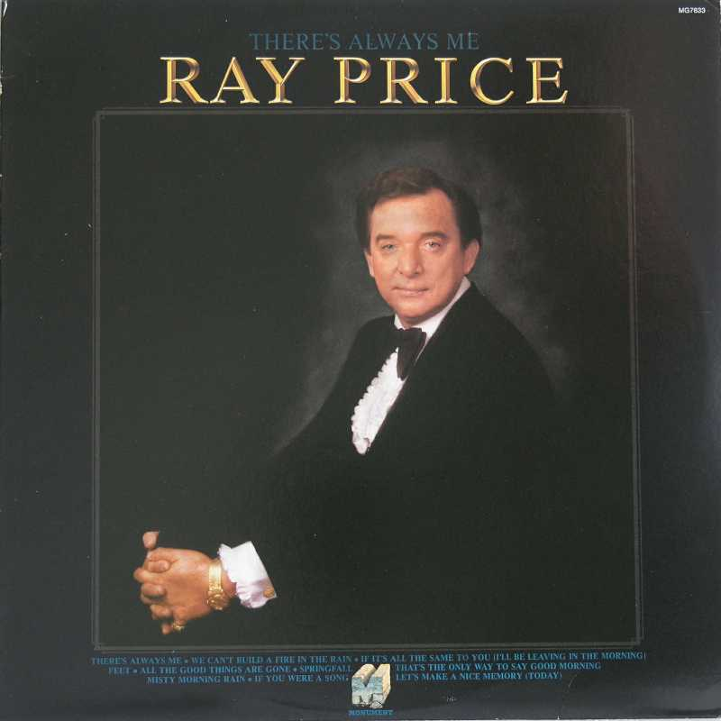 Ray Price - There's Always Me (Country Music vinyl record for sale)