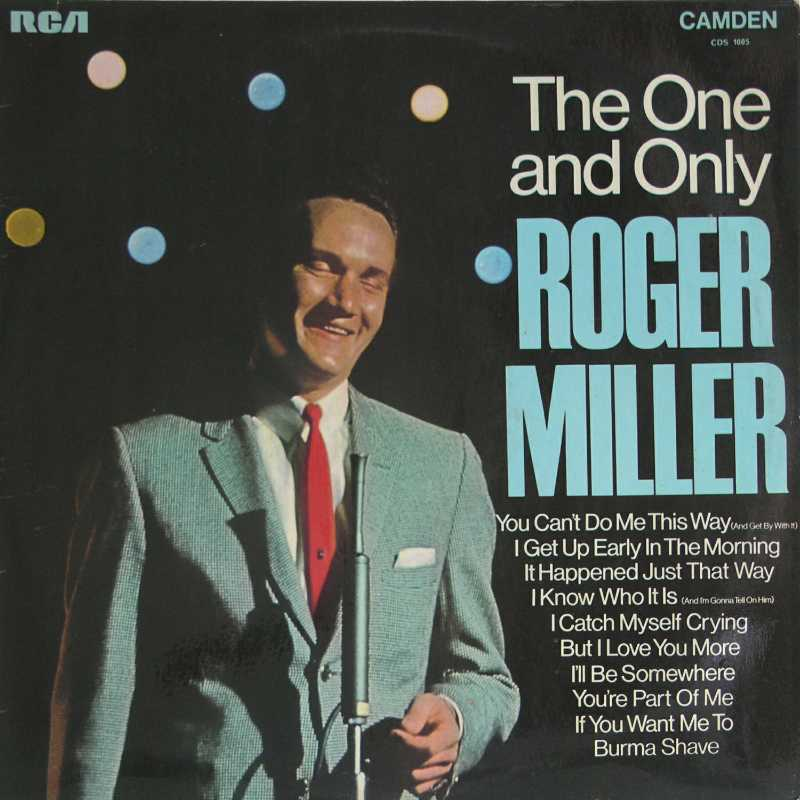 Roger Miller - The One And Only Roger Millerl (Country Music vinyl record for sale)