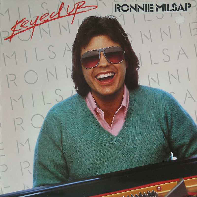 Ronnie Milsap - Keyed Up (Country Music vinyl record for sale)