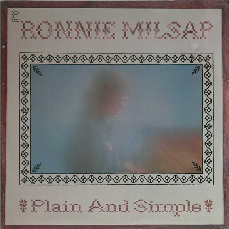 Ronnie Milsap - Plain And Simple (Country Music vinyl record for sale)