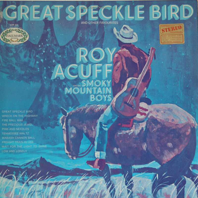 Roy Acuff - Great Speckle Bird (Country Music vinyl record for sale)
