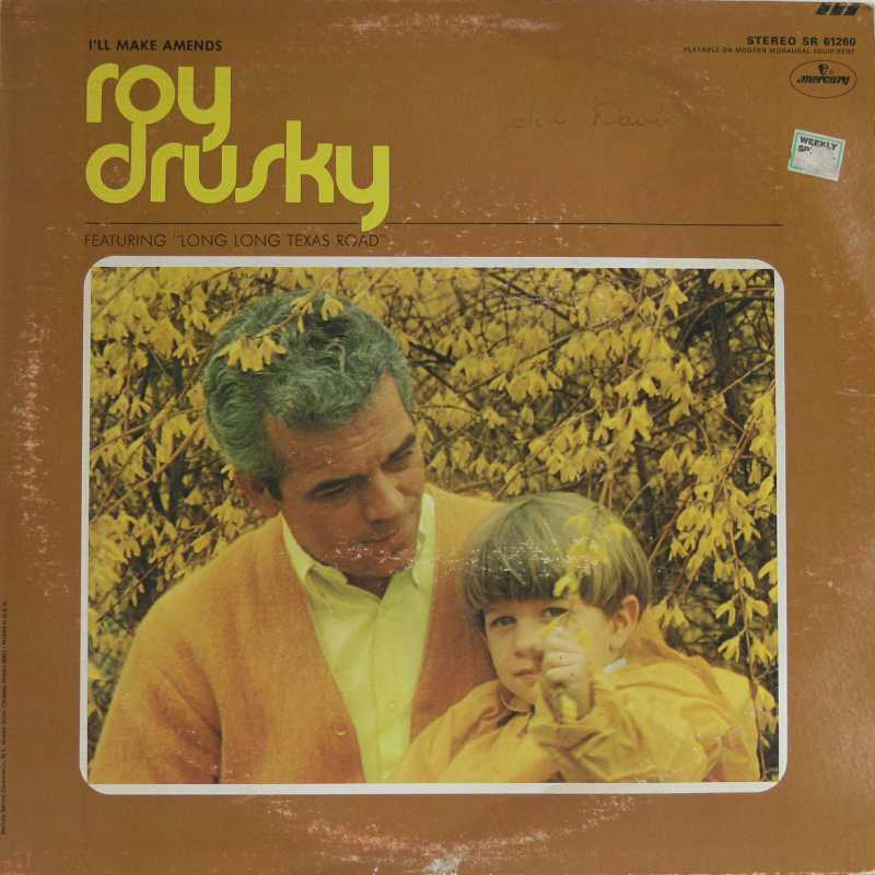 Roy Drusky - I'll Make Amends (Country Music vinyl record for sale)