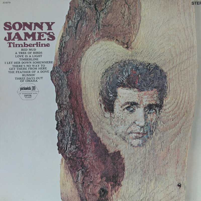 Sonny James - Timberline (Country Music vinyl record for sale)