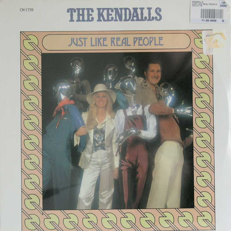 The Kendalls - Just Like Real People (Country Music vinyl record for sale)
