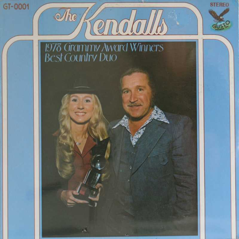 The Kendalls - 1978 Grammy Award Winners and Best Country Duo (Country Music vinyl record for sale)