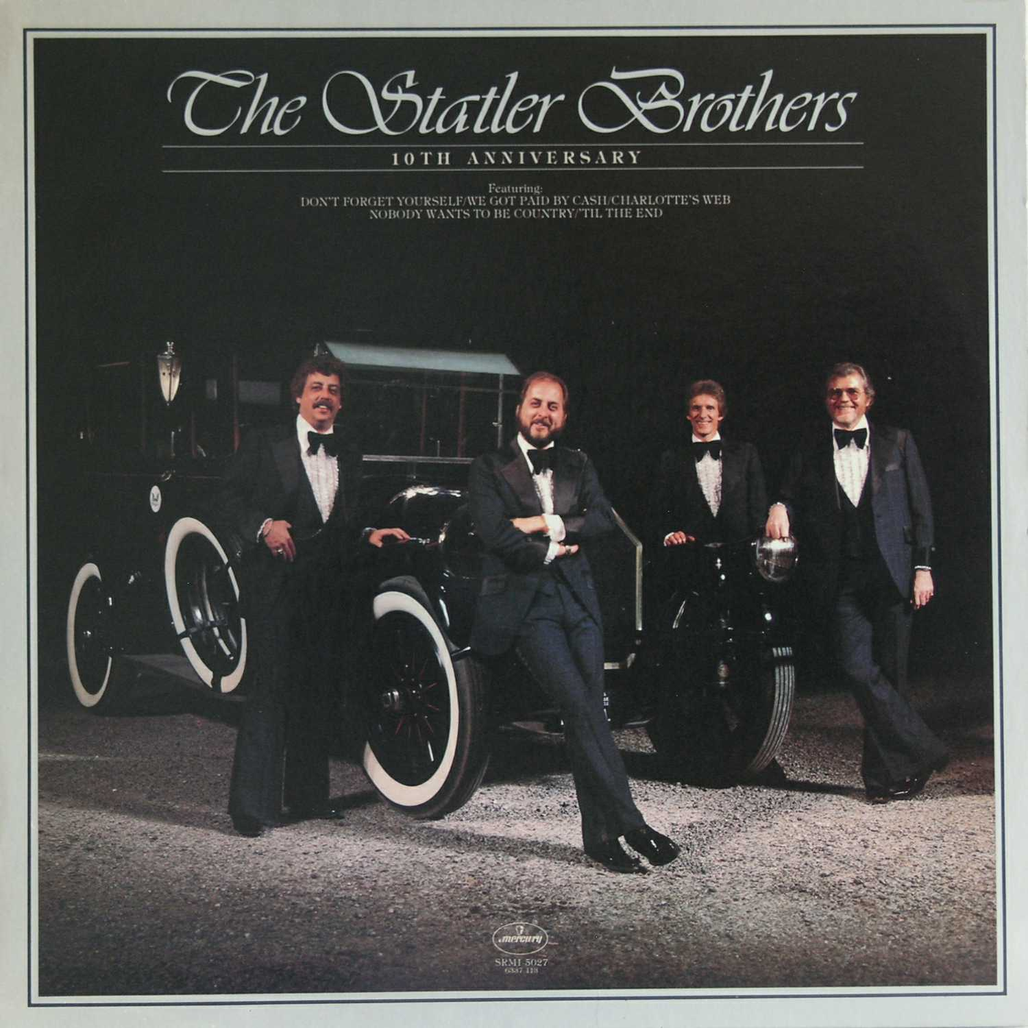 The Statler Brothers - Tenth Anniversary (Country Music vinyl record for sale)