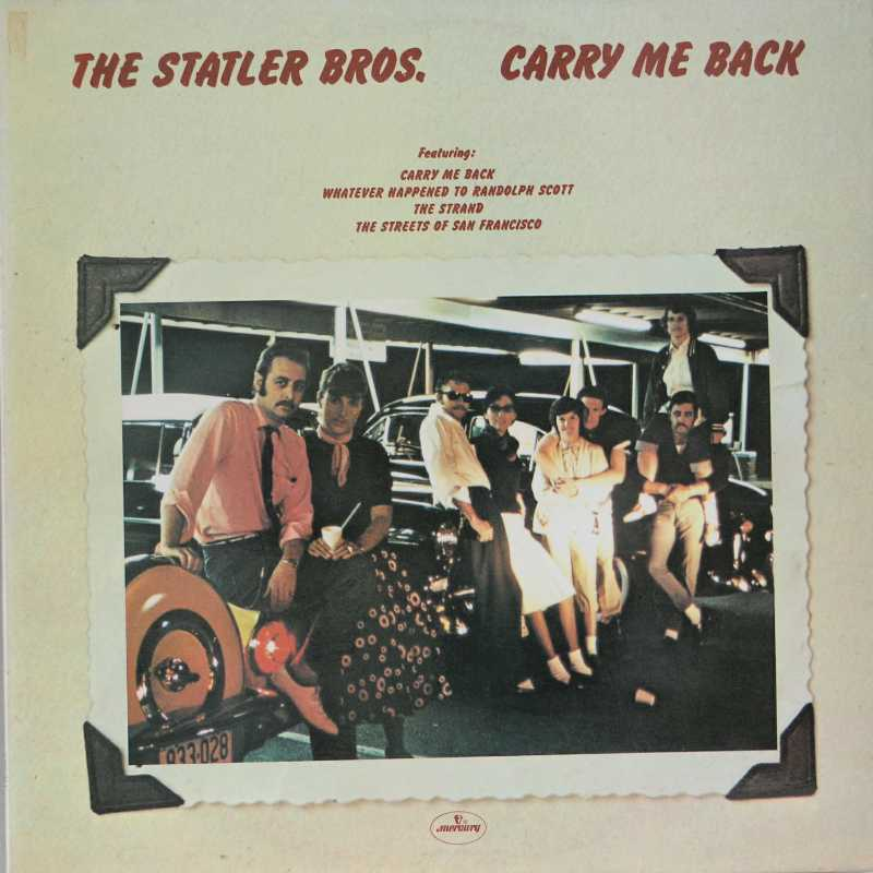 The Statler Brothers - Carry Me Back (Country Music vinyl record for sale)