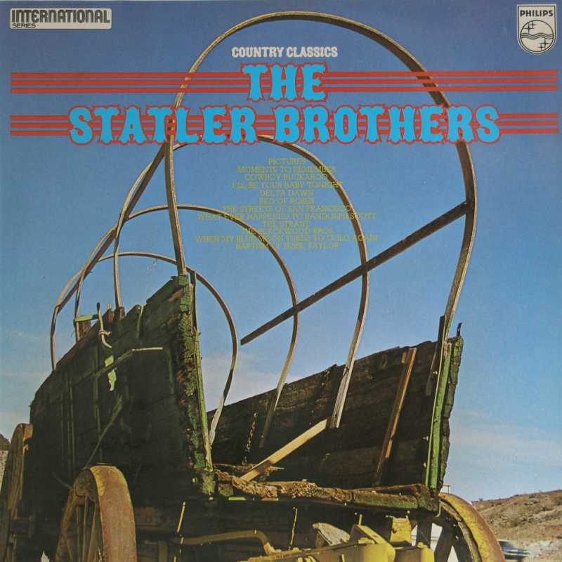 The Statler Brothers - Country Classics (Country Music vinyl record for sale)