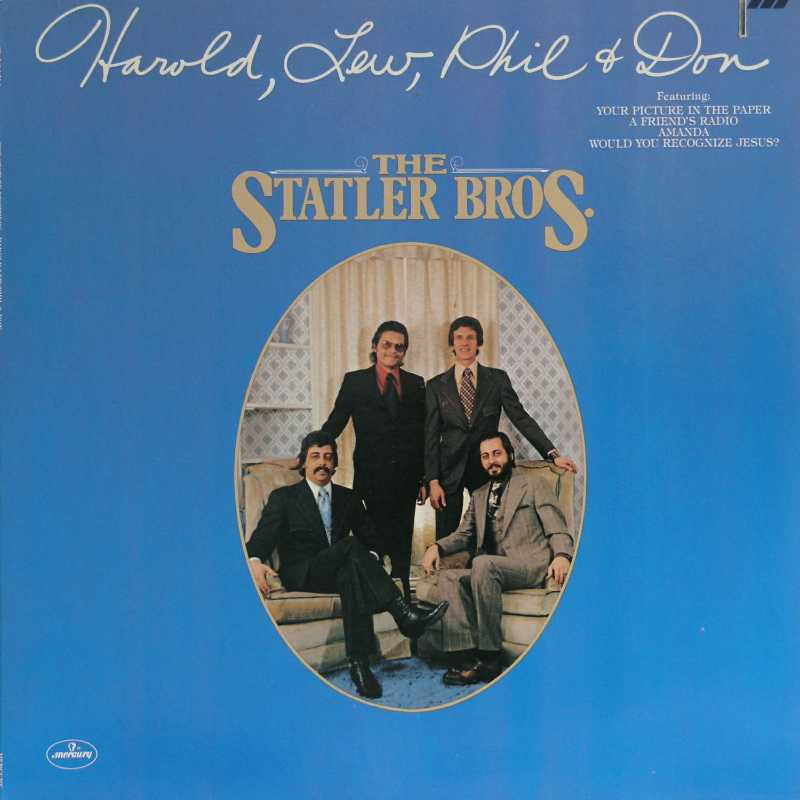 The Statler Brothers - Harold, Lew, Phil And Don  (Country Music vinyl record for sale)