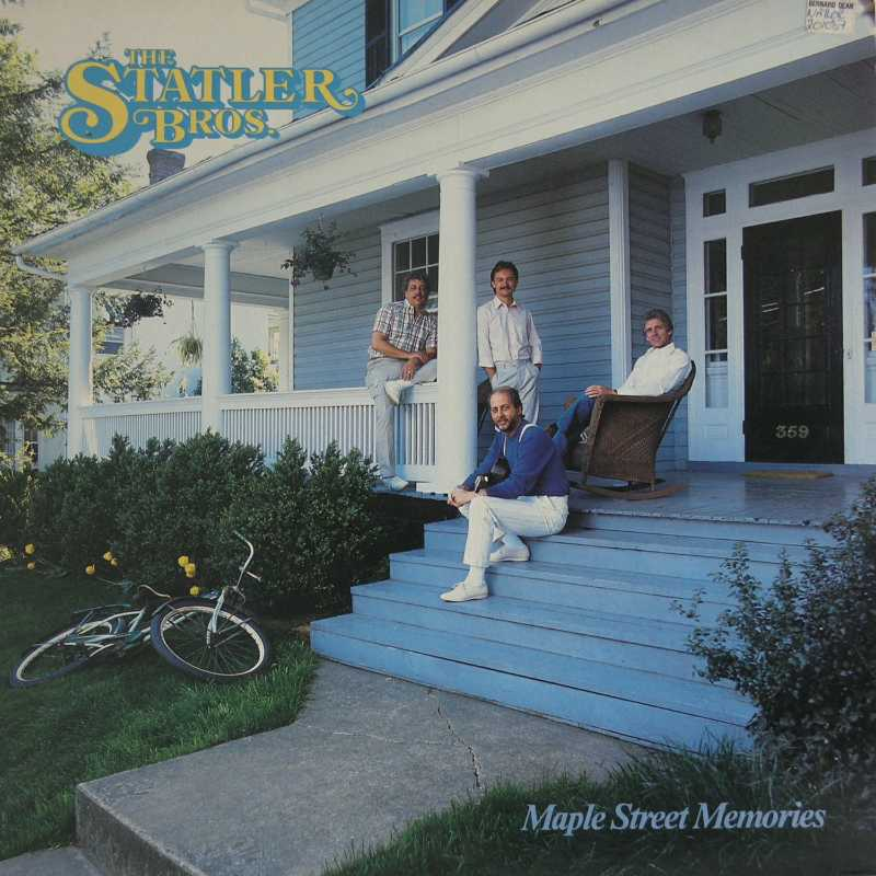 The Statler Brothers - Maple Street Memories  (Country Music vinyl record for sale)