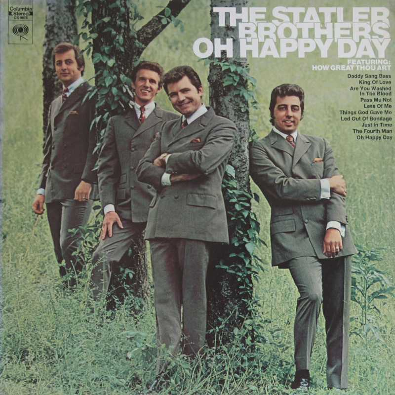 The Statler Brothers - Oh Happy Day (Country Music vinyl record for sale)