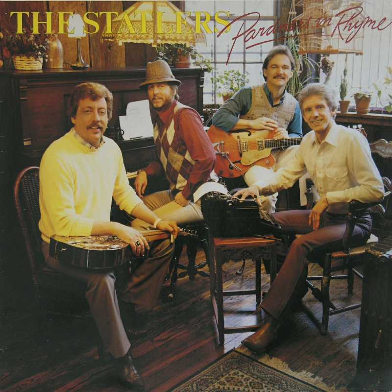 The Statler Brothers - Pardners In Rhyme (Country Music vinyl record for sale)