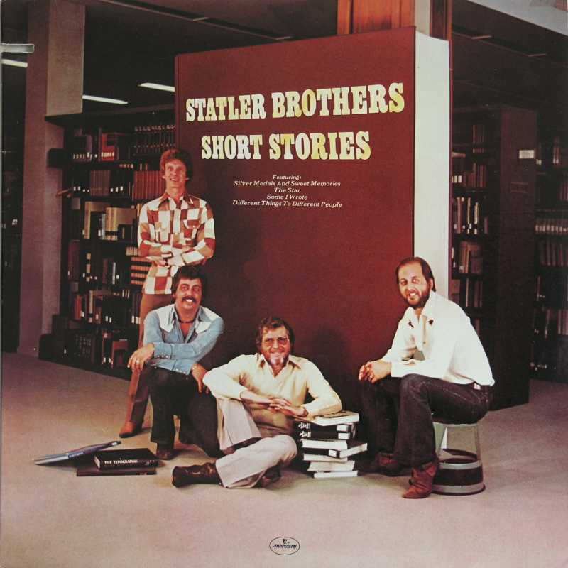 The Statler Brothers - Short Stories  (Country Music vinyl record for sale)