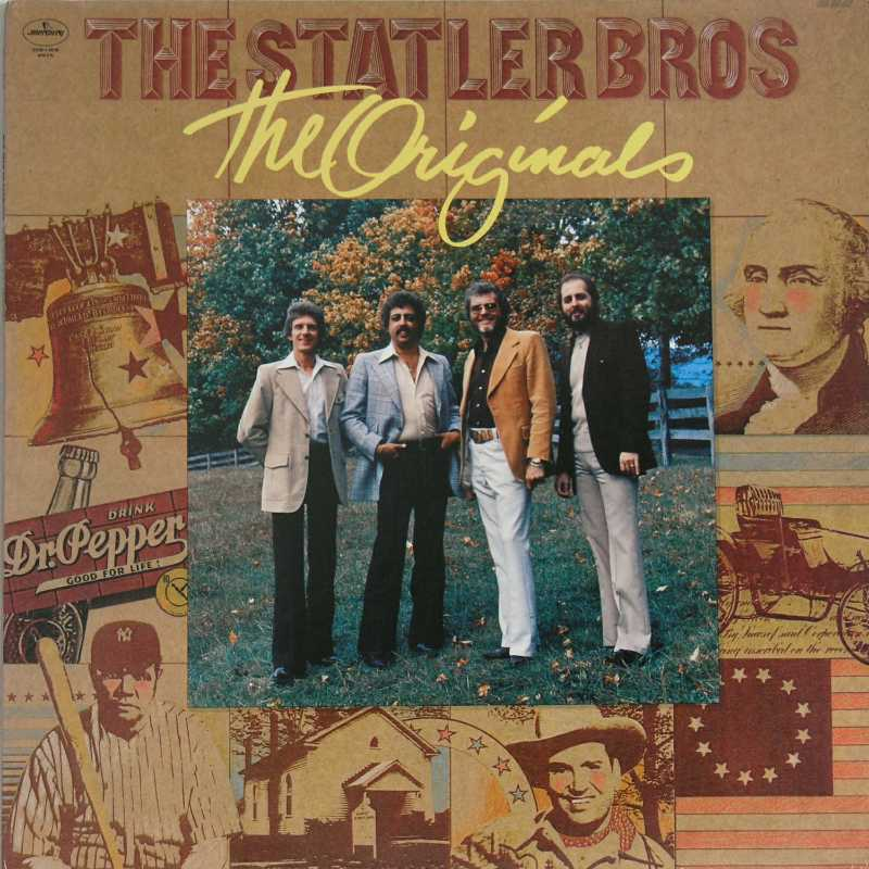 The Statler Brothers - The Originals  (Country Music vinyl record for sale)