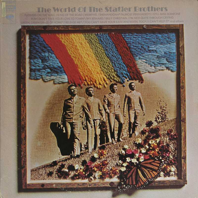 The Statler Brothers - The World Of The Statler Brothers (Country Music vinyl record for sale)
