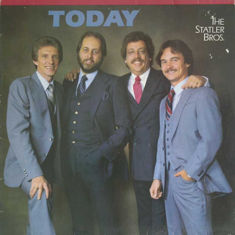 The Statler Brothers - Today  (Country Music vinyl record for sale)