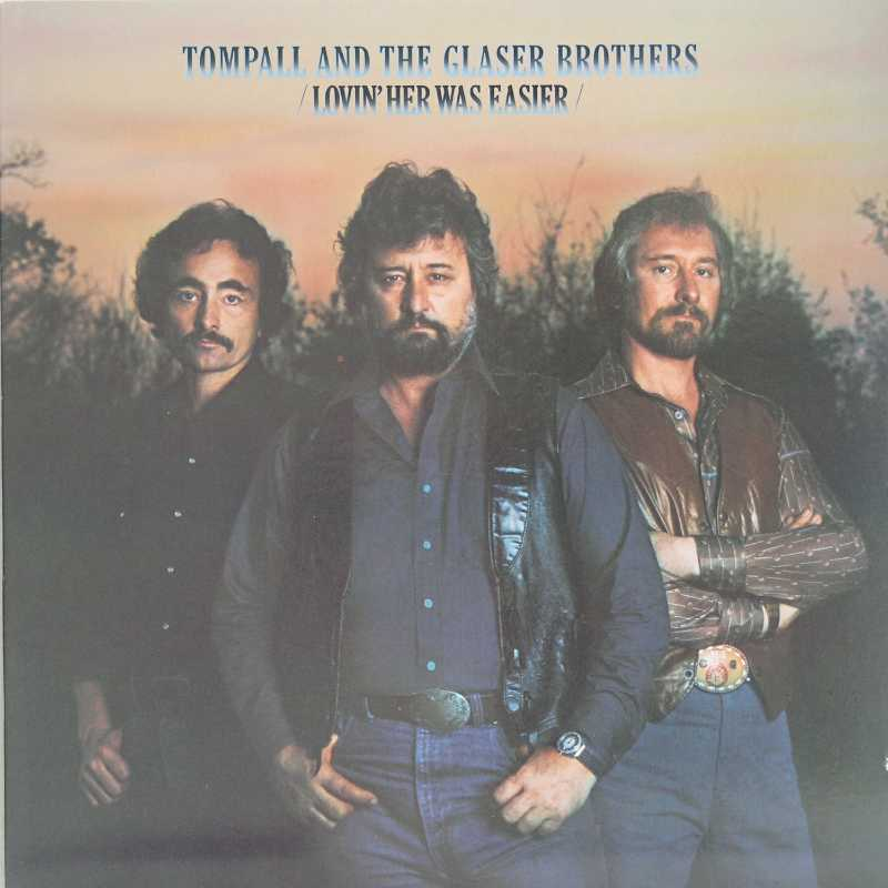 Tompall and The Glaser Brothers - Loving Her Was Easier (Country Music vinyl record for sale)