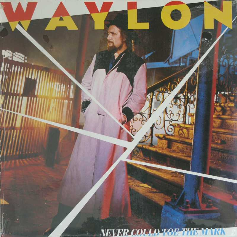 Waylon Jennings - Never Could Toe The Mark (Country Music vinyl record for sale)