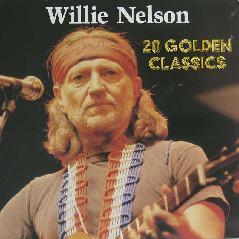 Willie Nelson - Twenty Golden Classics  (Country Music vinyl record for sale)