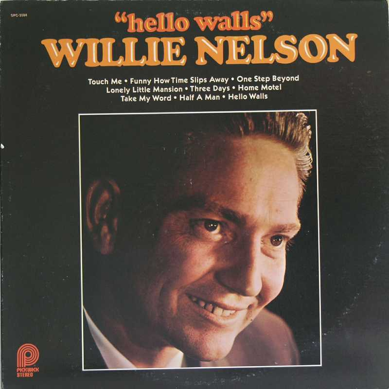 Willie Nelson - Hello Walls  (Country Music vinyl record for sale)