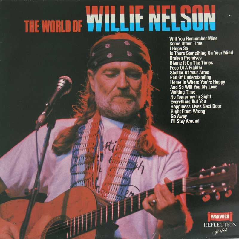 Willie Nelson - The World Of Willie Nelson (Country Music vinyl record for sale)