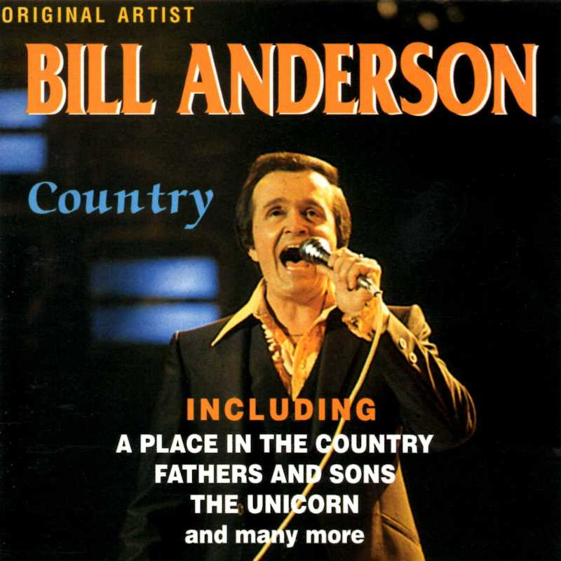 Bill Anderson - Country (Country Music vinyl records and CDs for sale)