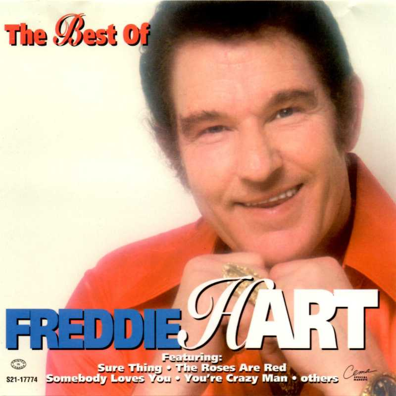 Freddie Hart - The Best Of Freddie Hart(Country Music vinyl records and CDs for sale)