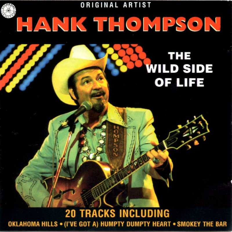 Hank Thompson - The Wild Side Of Life(Country Music vinyl records and CDs for sale)