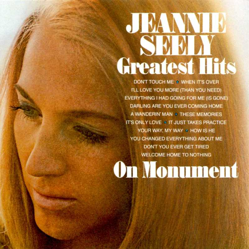 Jeannie Seely - Jeannie Seely's Greatest Hits On Monument(Country Music vinyl records and CDs for sale)