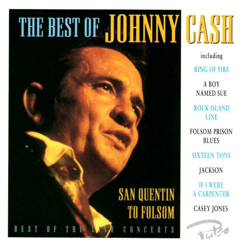 Johnny Cash - The Best Of Johnny Cash (Country Music vinyl records and CDs for sale)