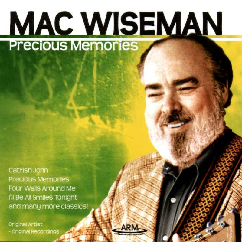 Mac Wiseman - Precious Memories(Country Music vinyl records and CDs for sale)