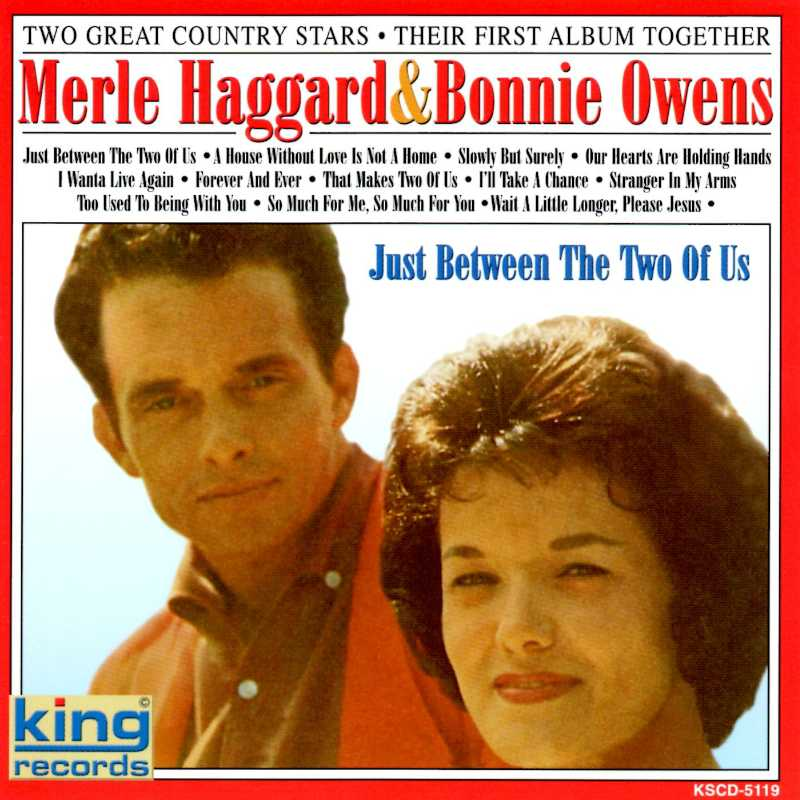 Merle Haggard and Bonnie Owens - Just Between The Two Of Us (Country Music vinyl records and CDs for sale)
