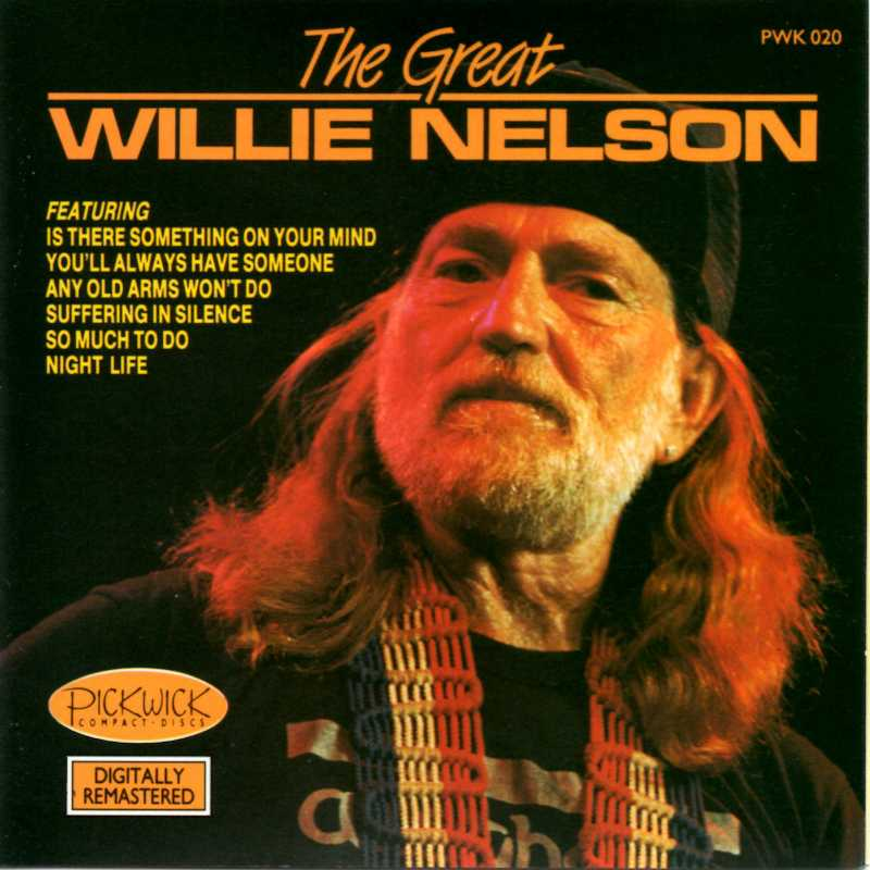 Willie Nelson - The Great Willie Nelson (Country Music vinyl records and CDs for sale)