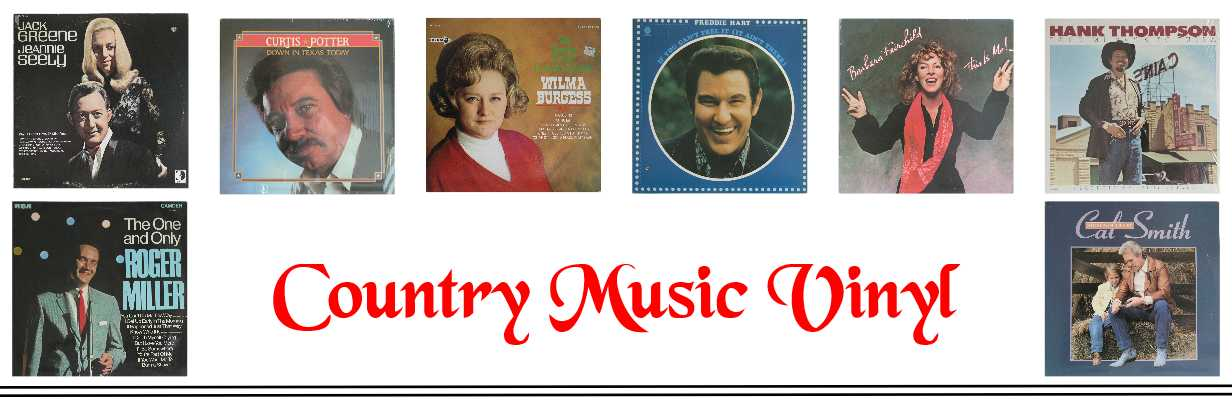 Country Music Vinyl Records And CDs For Sale